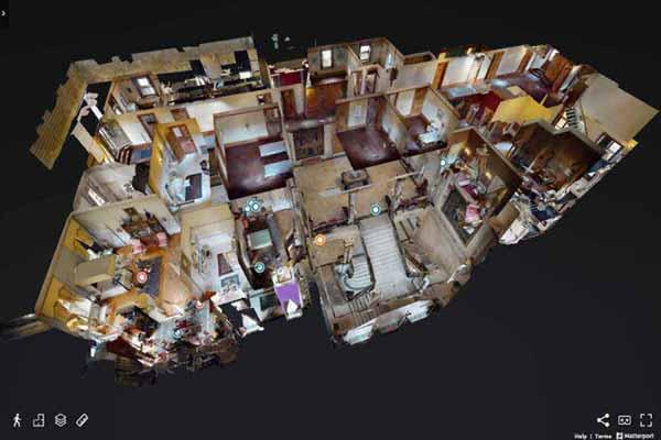 Matterport widok 3D Dollhouse